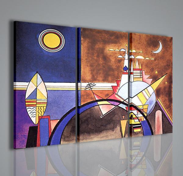Quadri moderni quadri pittori famosi kandisky xii quadri for Quadri astratti famosi