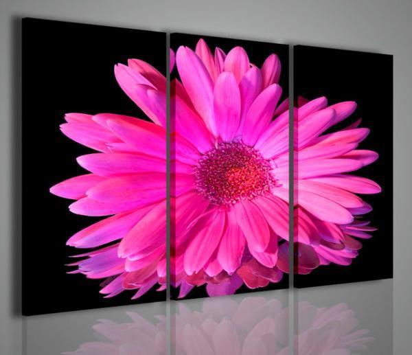 Quadri Moderni Fiori : Quadri moderni di fiori e piante violet flower ii