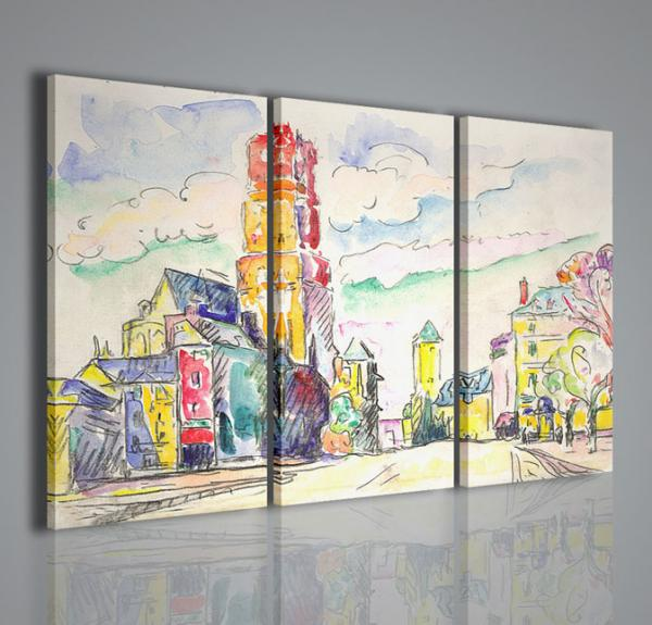 Quadri moderni quadri pittori famosi paul signac ii for Pittori astratti moderni