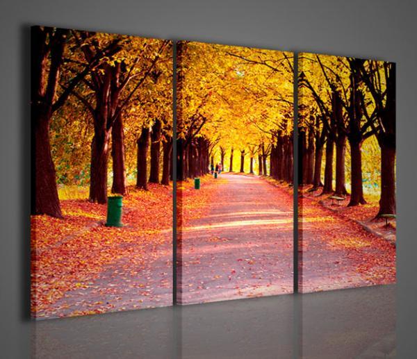 Quadri moderni quadri di natura e paesaggi colors autumn for Quadri per soggiorni moderni