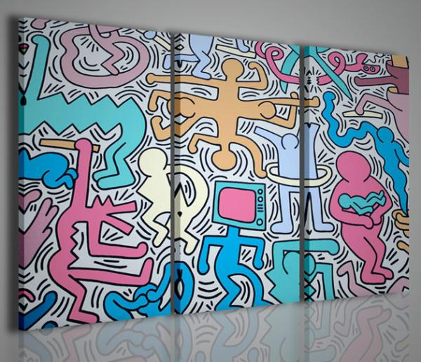 quadri moderni quadri pittori famosi keith hearing i