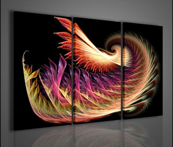 Quadri moderni quadri astratti anemone abstract quadri for Quadri moderni astratti per arredamento