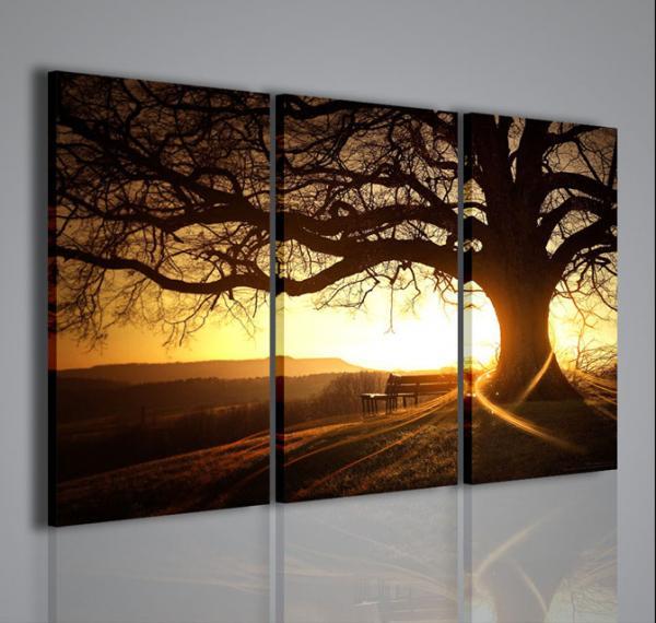 Quadri moderni quadri di natura e paesaggi soft tree for Quadri per soggiorni moderni
