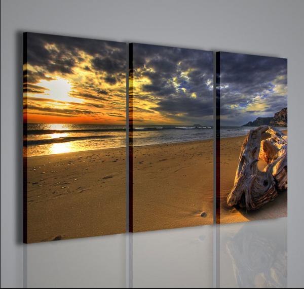 Quadri moderni quadri di natura e paesaggi sundown for Quadri per salotto moderno