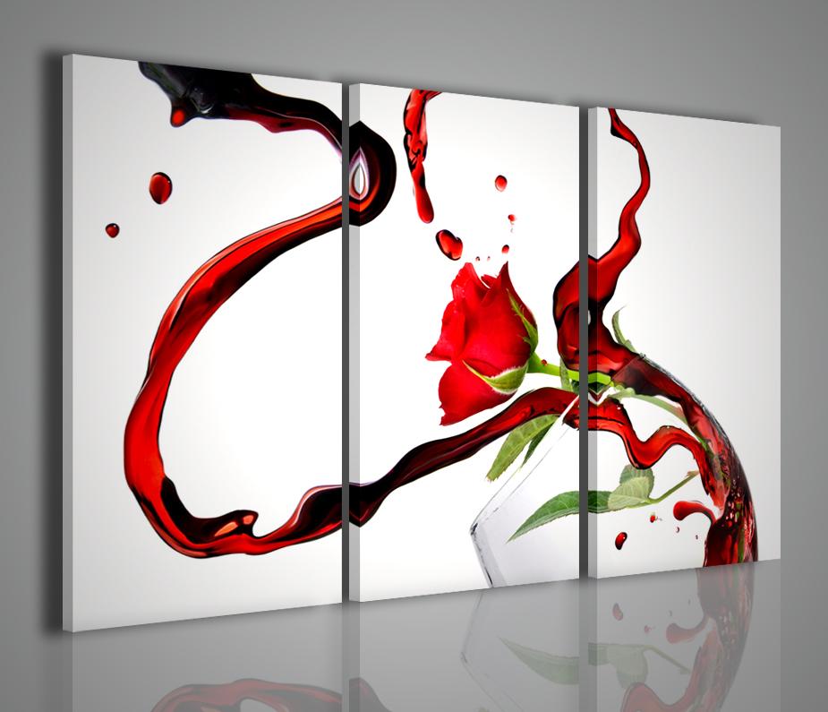 Quadri moderni arredamento bar enoteca quadro vino arredamento moderno ambienti canvas print - Quadri in cucina ...